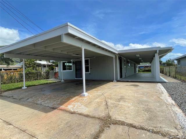 87-1737 Mohihi Street, Waianae, HI 96792 (MLS #202108576) :: LUVA Real Estate