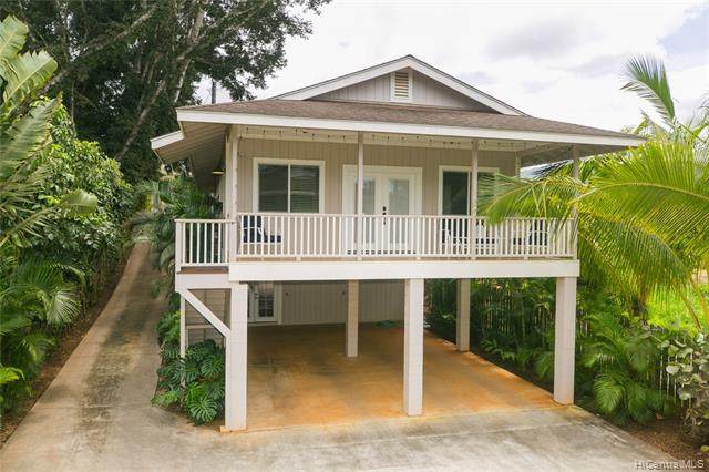 66-496 Paalaa Road B, Haleiwa, HI 96712 (MLS #202108637) :: Keller Williams Honolulu