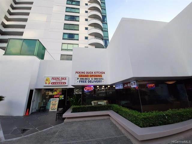 1341 Kapiolani Boulevard C115, Honolulu, HI 96814 (MLS #202108810) :: LUVA Real Estate