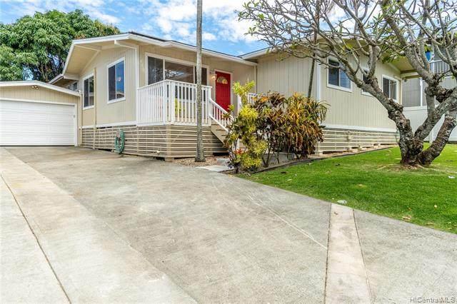 1412 Humuula Street, Kailua, HI 96734 (MLS #202108902) :: Team Lally
