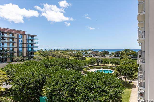 1350 Ala Moana Boulevard #710, Honolulu, HI 96814 (MLS #202108971) :: Barnes Hawaii