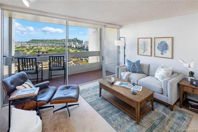 555 University Avenue #2805, Honolulu, HI 96826 (MLS #202108995) :: Barnes Hawaii