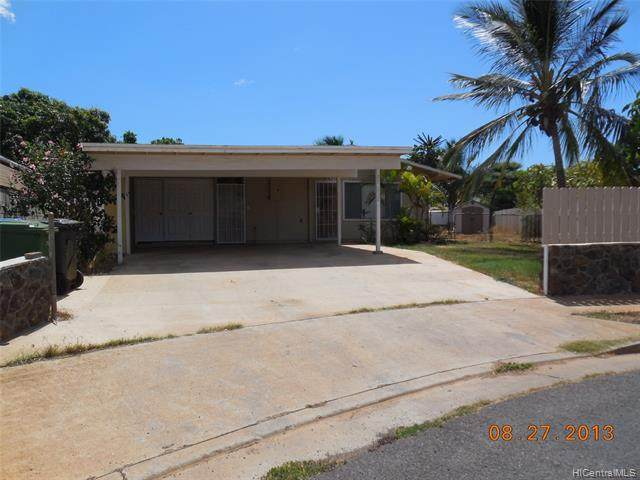 87-210 Kipahulu Place, Waianae, HI 96792 (MLS #202109036) :: LUVA Real Estate