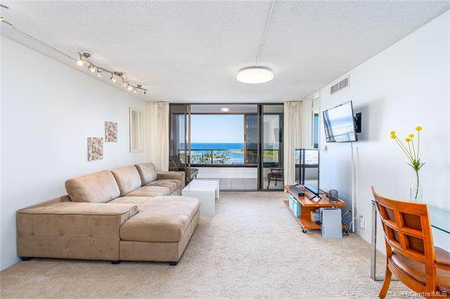 1600 Ala Moana Boulevard #1710, Honolulu, HI 96815 (MLS #202109347) :: Island Life Homes