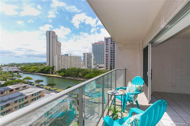 1645 Ala Wai Boulevard #904, Honolulu, HI 96815 (MLS #202109349) :: LUVA Real Estate