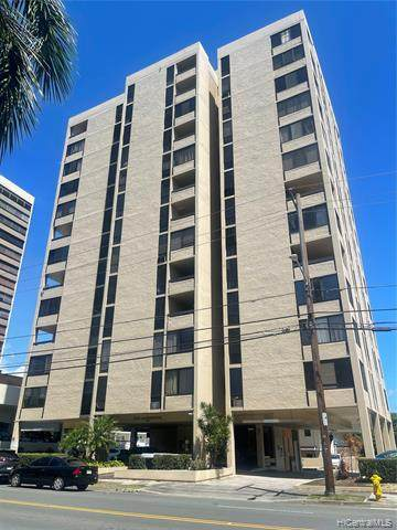 1505 Alexander Street #705, Honolulu, HI 96822 (MLS #202109412) :: Keller Williams Honolulu