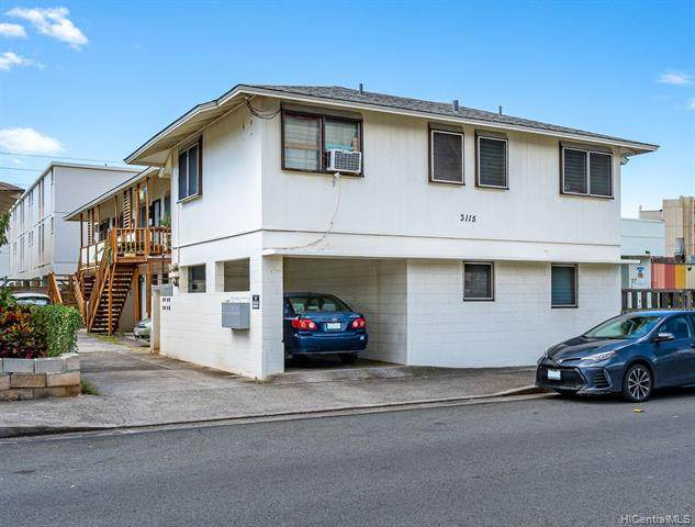 3115 Castle Street, Honolulu, HI 96815 (MLS #202109446) :: Corcoran Pacific Properties