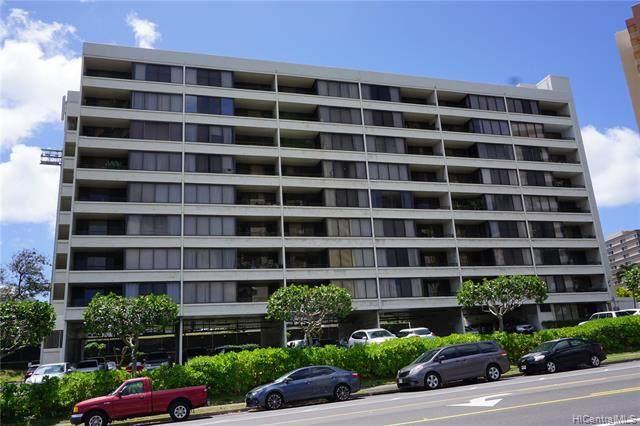 1147 Ala Napunani Street #402, Honolulu, HI 96818 (MLS #202109784) :: Barnes Hawaii