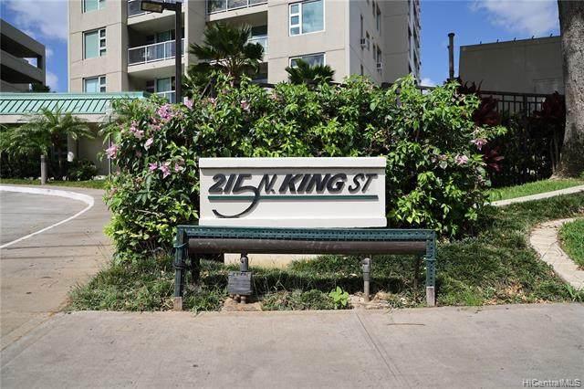 215 N King Street #1703, Honolulu, HI 96817 (MLS #202109831) :: Team Lally