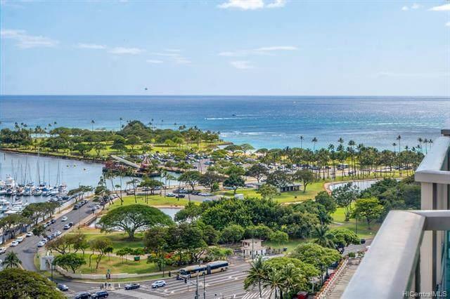 410 Atkinson Drive #1911, Honolulu, HI 96814 (MLS #202109936) :: Keller Williams Honolulu