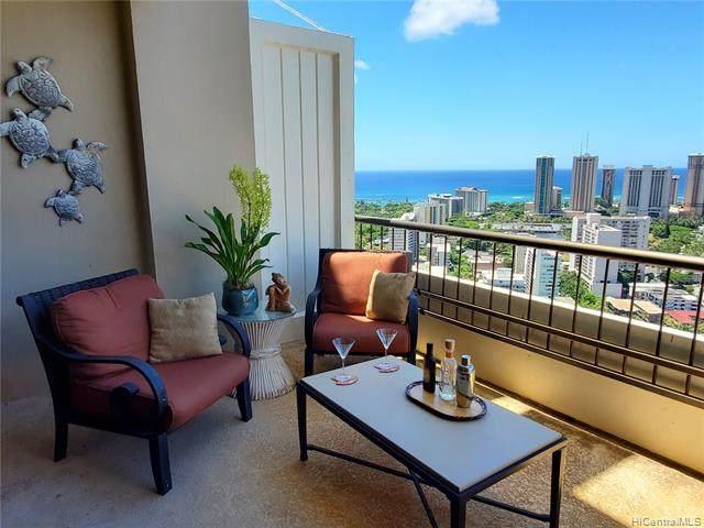 2333 Kapiolani Boulevard #3512, Honolulu, HI 96826 (MLS #202110263) :: LUVA Real Estate