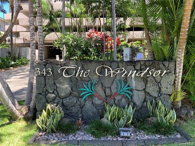 343 Hobron Lane #1204, Honolulu, HI 96815 (MLS #202110314) :: Keller Williams Honolulu