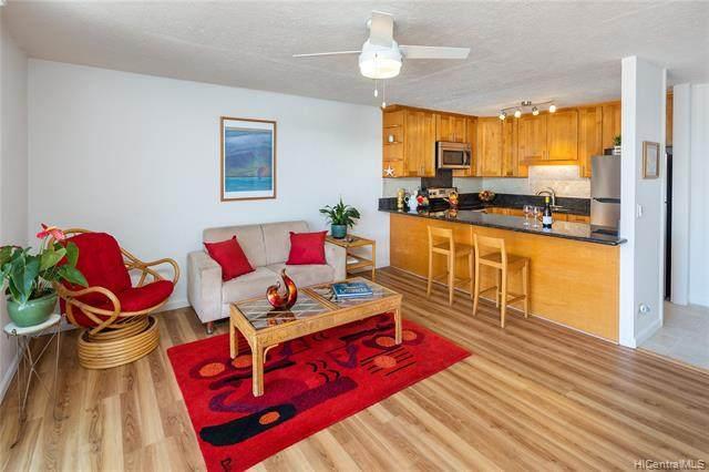 3033 Ala Napuaa Place #507, Honolulu, HI 96818 (MLS #202110521) :: Barnes Hawaii