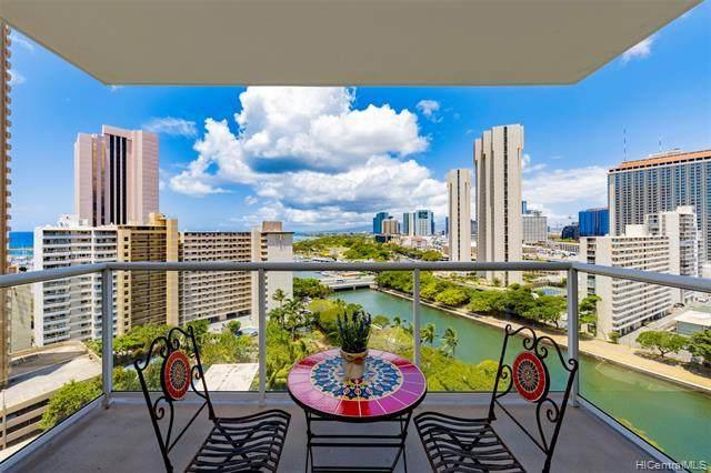 1551 Ala Wai Boulevard #1605, Honolulu, HI 96815 (MLS #202110571) :: Hawai'i Life