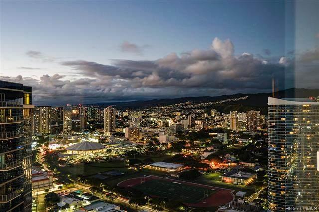 88 Piikoi Street #4507, Honolulu, HI 96814 (MLS #202110682) :: Team Lally