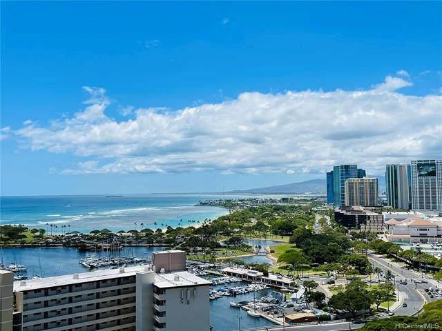 1551 Ala Wai Boulevard #2406, Honolulu, HI 96815 (MLS #202111702) :: Hawai'i Life