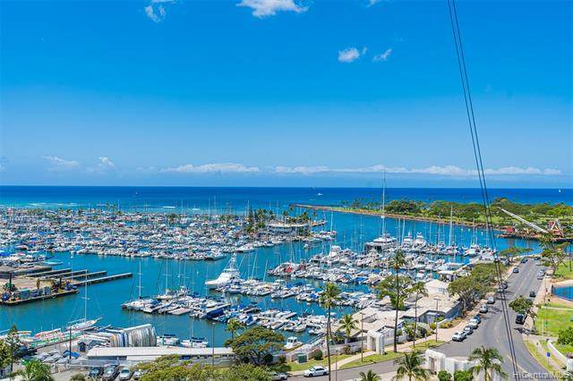 1600 Ala Moana Boulevard #1508, Honolulu, HI 96815 (MLS #202111840) :: Keller Williams Honolulu