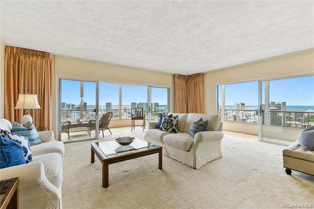 999 Wilder Avenue #1702, Honolulu, HI 96822 (MLS #202111915) :: Barnes Hawaii