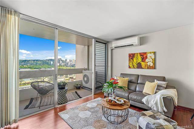 555 University Avenue #1203, Honolulu, HI 96826 (MLS #202111927) :: LUVA Real Estate
