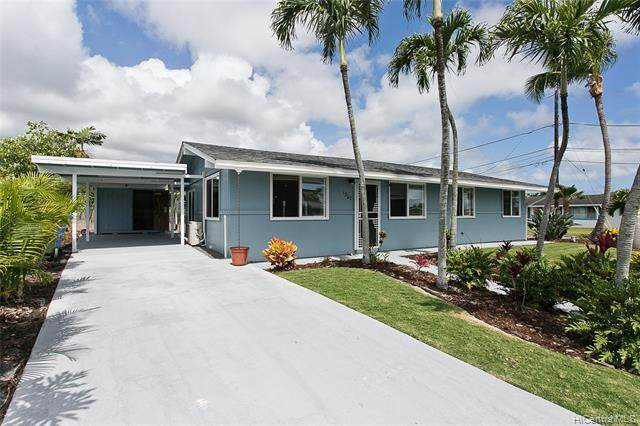 1302 Akamai Street, Kailua, HI 96734 (MLS #202112048) :: Barnes Hawaii