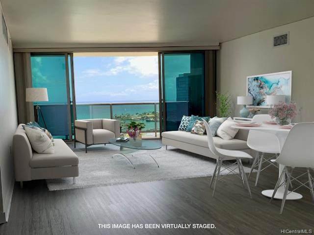 1177 Queen Street #3906, Honolulu, HI 96814 (MLS #202112109) :: LUVA Real Estate