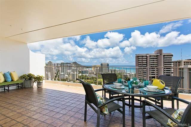 469 Ena Road #3602, Honolulu, HI 96815 (MLS #202112293) :: Team Lally