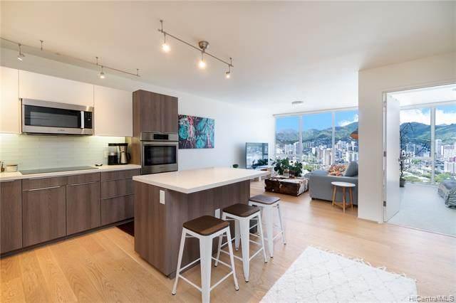 888 Kapiolani Boulevard #3201, Honolulu, HI 96813 (MLS #202112336) :: LUVA Real Estate