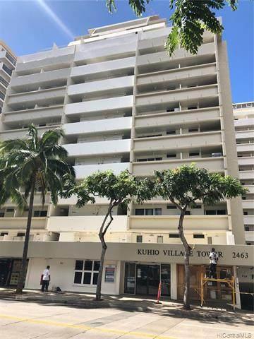 2463 Kuhio Avenue #407, Honolulu, HI 96815 (MLS #202112423) :: Team Lally