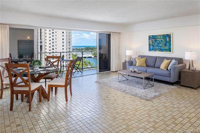 1645 Ala Wai Boulevard #1104, Honolulu, HI 96815 (MLS #202112430) :: Team Lally