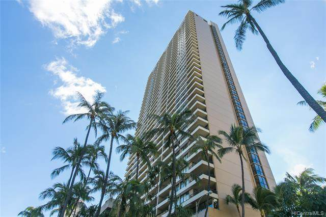 2121 Ala Wai Boulevard #3706, Honolulu, HI 96815 (MLS #202112433) :: LUVA Real Estate