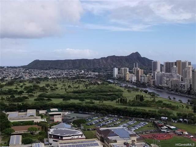 555 University Avenue #3707, Honolulu, HI 96826 (MLS #202112436) :: LUVA Real Estate