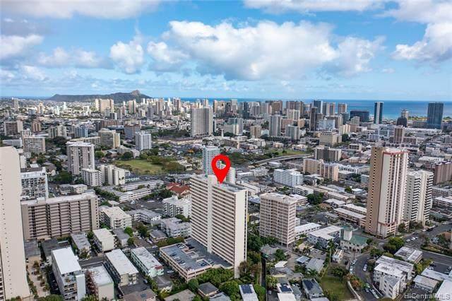 1630 Liholiho Street #1609, Honolulu, HI 96822 (MLS #202112501) :: Team Lally