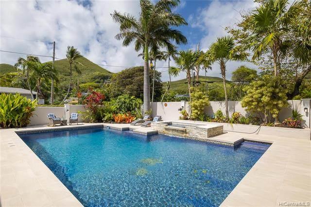 122 Lanipo Drive, Kailua, HI 96734 (MLS #202112625) :: Corcoran Pacific Properties