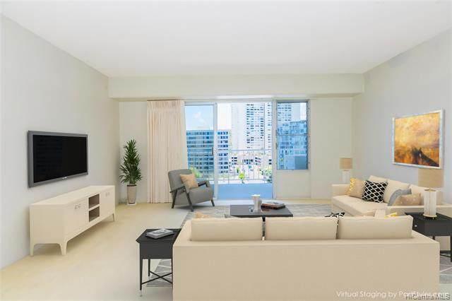 1333 Heulu Street #1002, Honolulu, HI 96822 (MLS #202112761) :: LUVA Real Estate