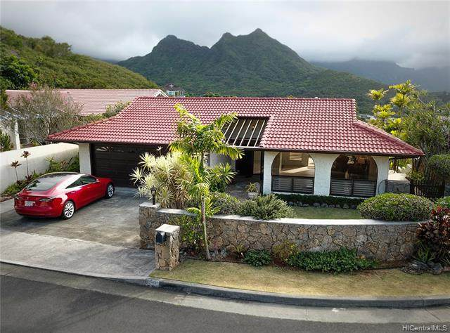 1380 Aupula Place, Kailua, HI 96734 (MLS #202112871) :: Corcoran Pacific Properties