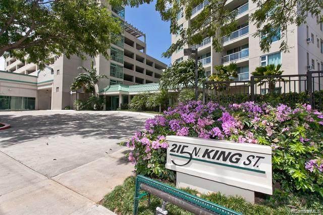 215 N King Street #1608, Honolulu, HI 96817 (MLS #202113057) :: Team Lally