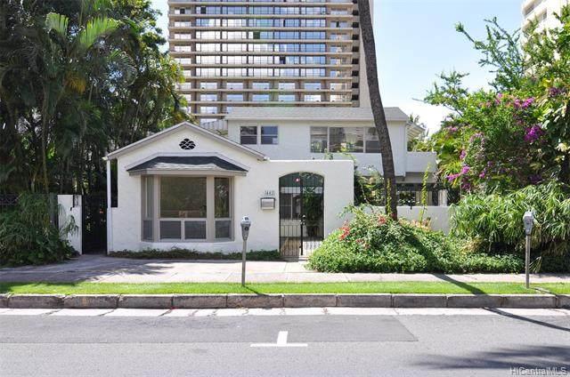 442 Kalaimoku Street, Honolulu, HI 96815 (MLS #202113138) :: Team Lally