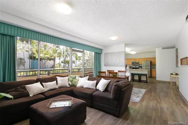 1684 Ala Moana Boulevard #100, Honolulu, HI 96815 (MLS #202113194) :: Team Lally