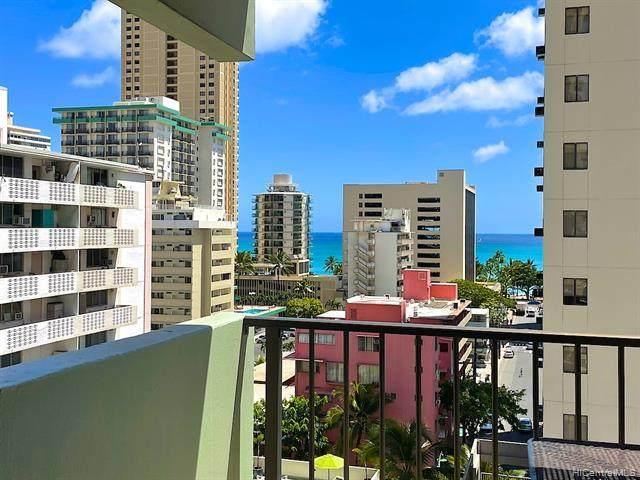 2440 Kuhio Avenue #912, Honolulu, HI 96815 (MLS #202113294) :: LUVA Real Estate