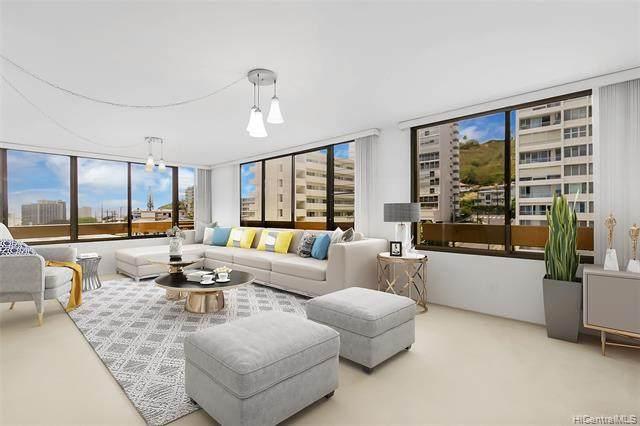 905 Spencer Street #804, Honolulu, HI 96822 (MLS #202115009) :: LUVA Real Estate
