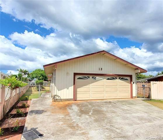 12 Halakahiki Place, Wahiawa, HI 96786 (MLS #202115029) :: Compass