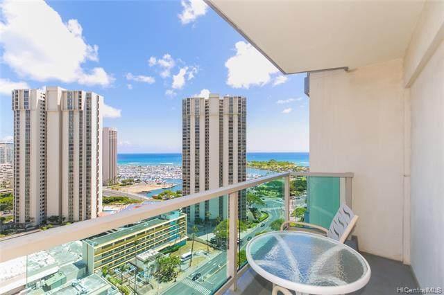 410 Atkinson Drive #2116, Honolulu, HI 96814 (MLS #202115070) :: Team Lally