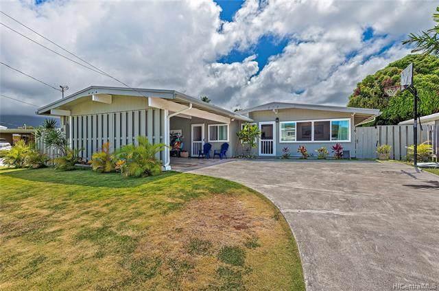 552 Palawiki Street, Kailua, HI 96734 (MLS #202115155) :: Team Lally