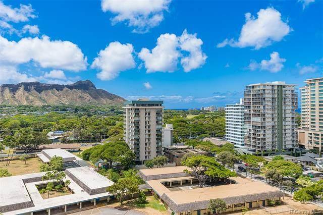 229 Paoakalani Avenue #1410, Honolulu, HI 96815 (MLS #202115407) :: Compass
