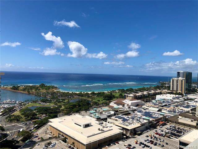1631 Kapiolani Boulevard #3811, Honolulu, HI 96814 (MLS #202115568) :: Team Lally