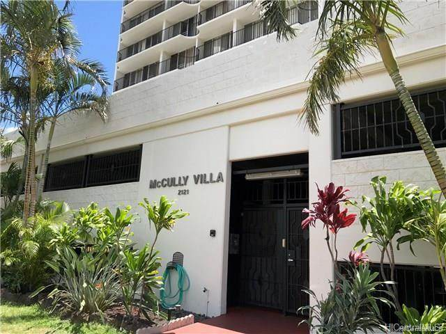 2121 Algaroba Street #1405, Honolulu, HI 96826 (MLS #202115657) :: Team Lally