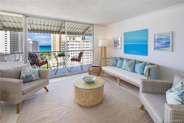 222 Liliuokalani Avenue #1401, Honolulu, HI 96815 (MLS #202115667) :: Team Lally