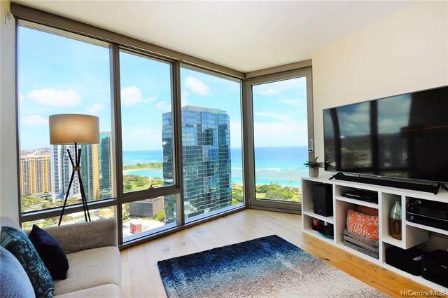 1001 Queen Street #3206, Honolulu, HI 96814 (MLS #202115675) :: LUVA Real Estate