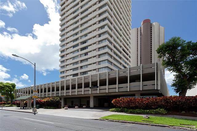 2525 Date Street #3306, Honolulu, HI 96826 (MLS #202115764) :: Team Lally