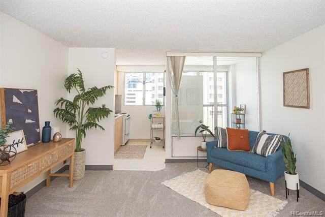 747 Amana Street #604, Honolulu, HI 96814 (MLS #202116017) :: Corcoran Pacific Properties